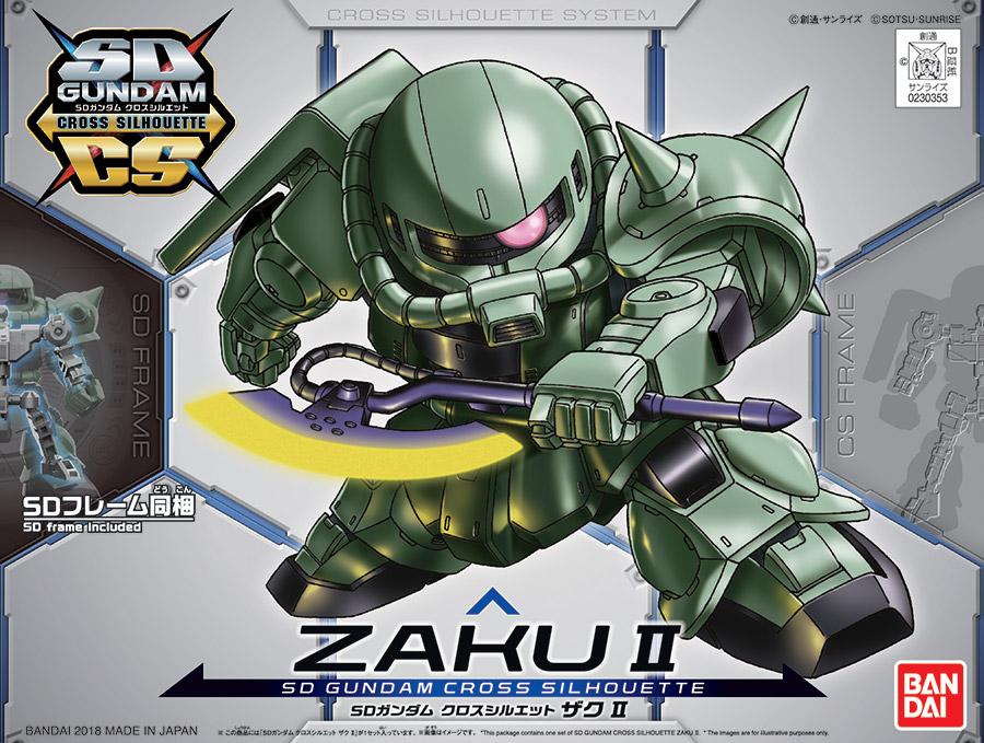 Figura BANDAI ROBOT SPIRITS lato Miss MS-06J ZAKU II zona umida tipo VER a.n.i.m.e
