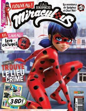 Fumetto Miraculous Le Avventure Di Ladybug E Chat Noir Magazine Vol 2
