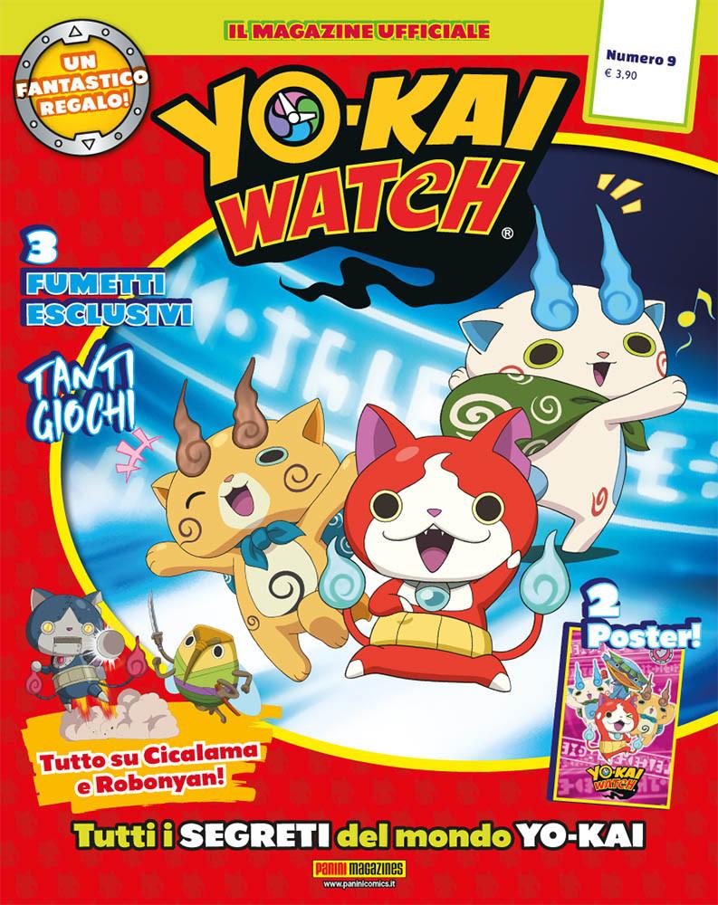 Fumetto YO-KAI WATCH MAGAZINE vol. 9 cba7b849a42