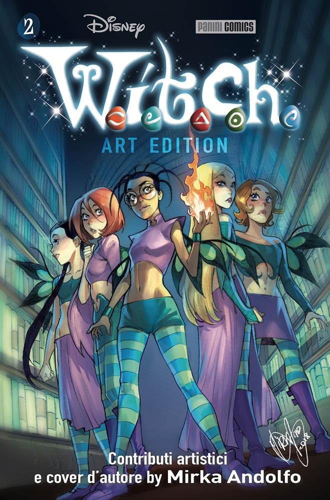 Fumetto W I T C H Art Edition Vol 2