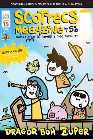 Fumetto Scottecs Megazine Vol 15