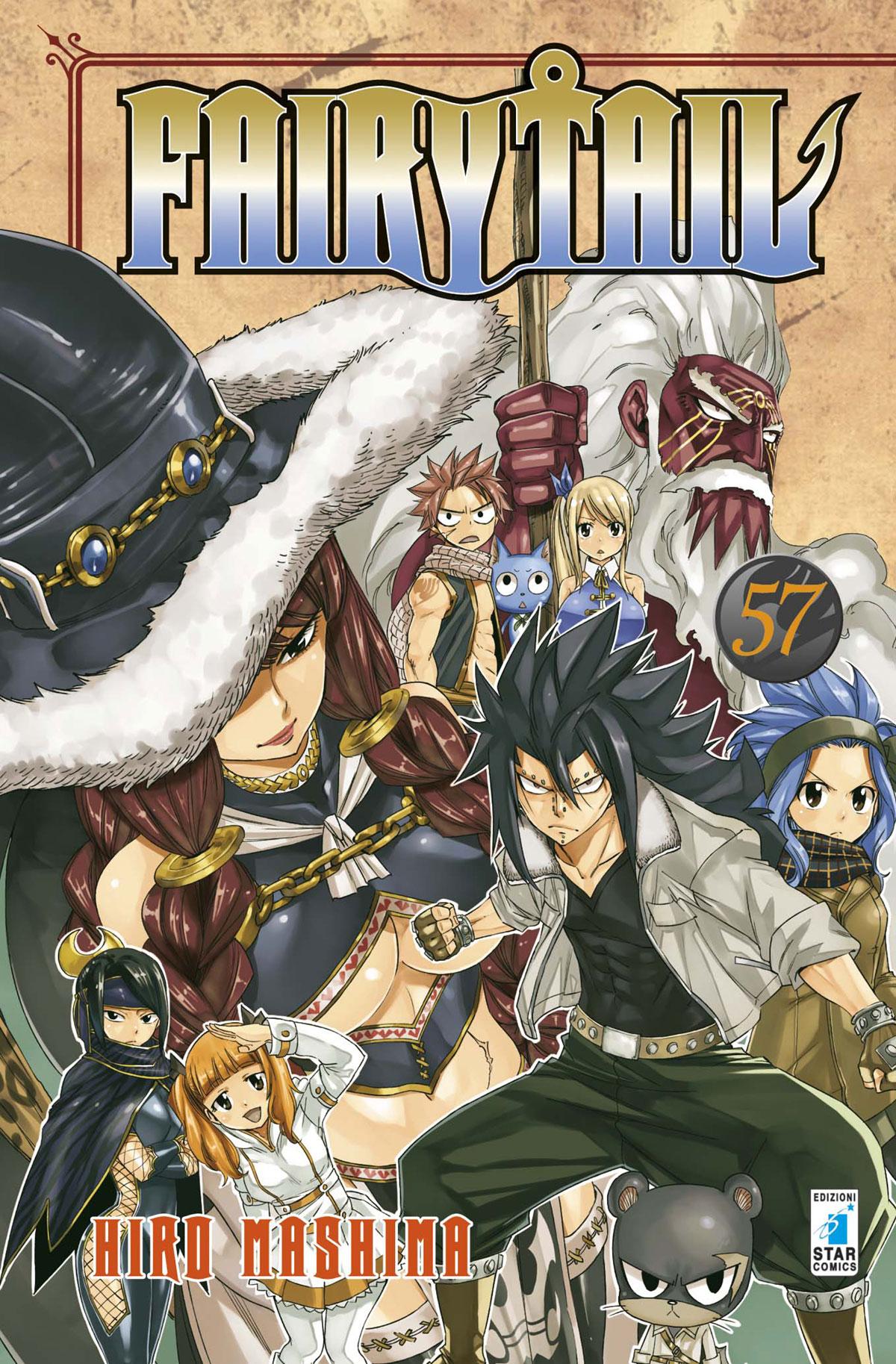 Fumetto Fairy Tail Vol 57