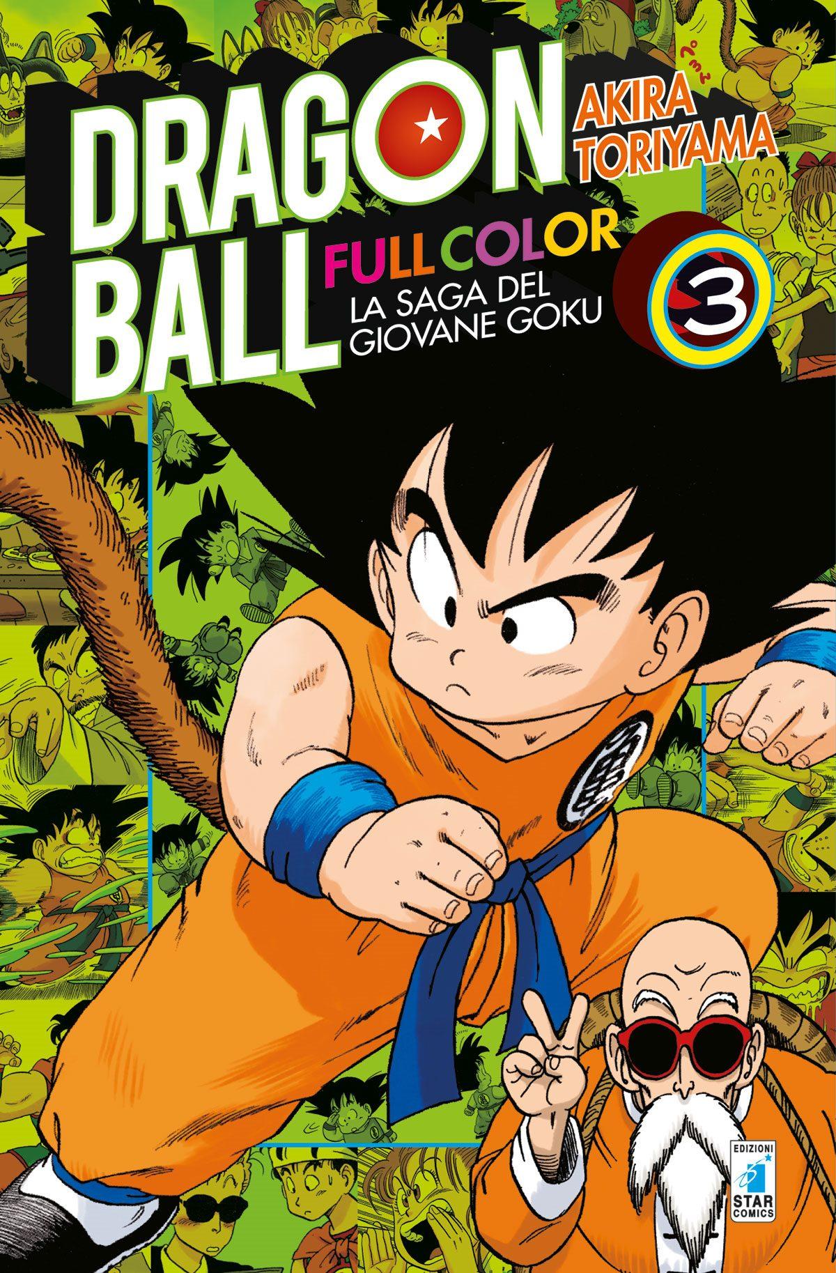 Fumetto Dragon Ball Full Color La Saga Del Giovane Goku Vol 3