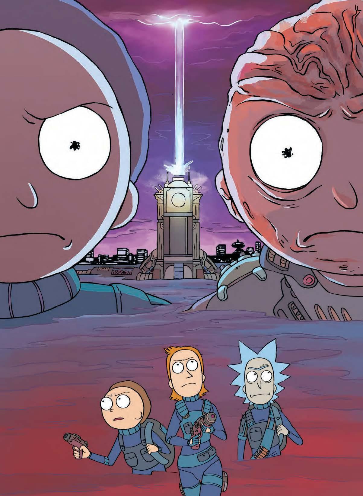 Fumetto Rick Morty Vol 2