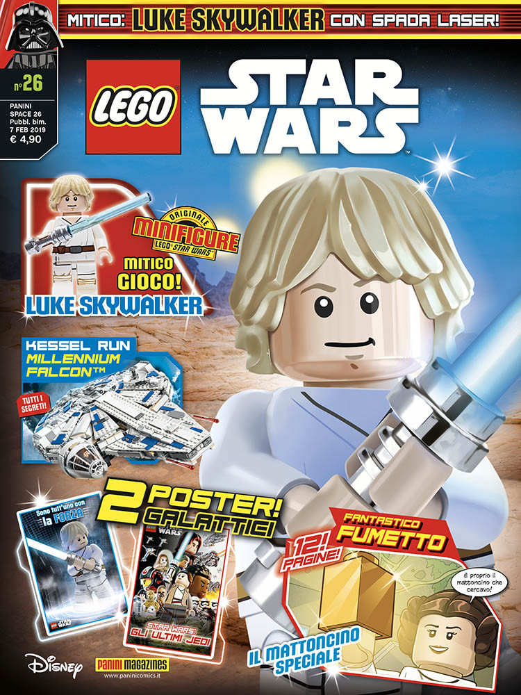 LEGO ® Star Wars ™ 5 x Spada Laser luce verde spada Arma impugnatura dorata nuovo
