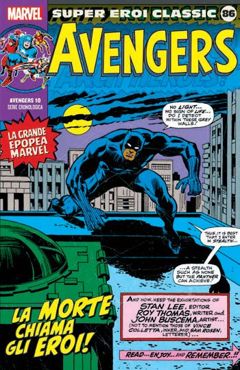 Calendario Cronologico Polito 2020.Fumetto Avengers Vol 10