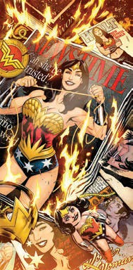 """NUOVA calzamaglia Wonder Woman Taglia 36/"""" by Zodiac Leos"""