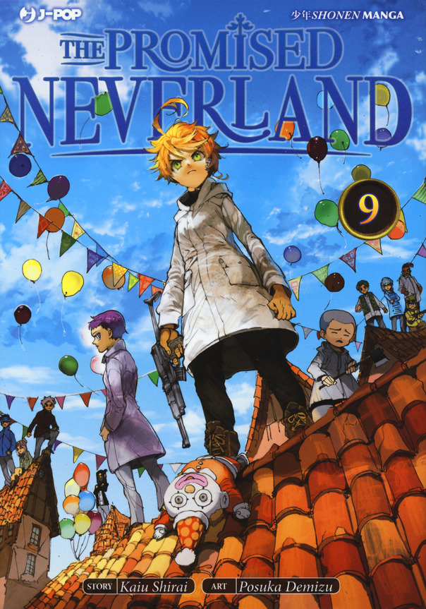 Fumetto THE PROMISED NEVERLAND vol. 9