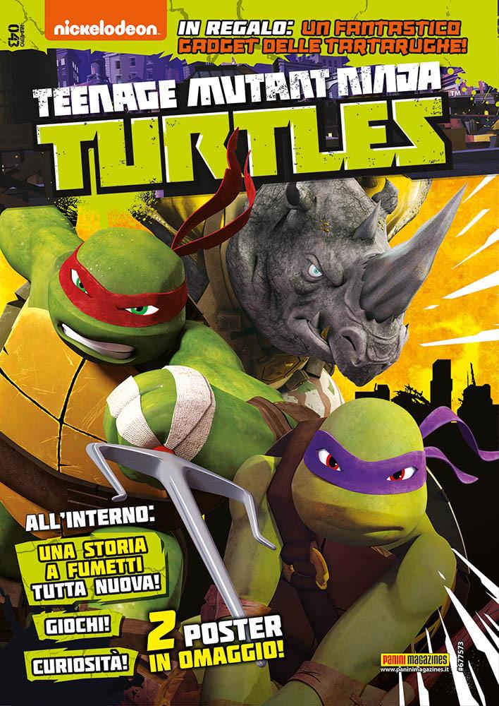 Fumetto Teenage Mutant Ninja Turtles Magazine Vol 43