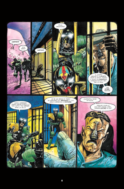 Fumetto JUDGE DREDD: THE GRANT MORRISON & MARK MILLAR